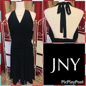 NWT $124 Plus Size 16 Jones New York Halter Dress